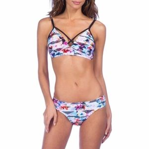 Kenneth Cole Power Play bikini set XL top S Bottom